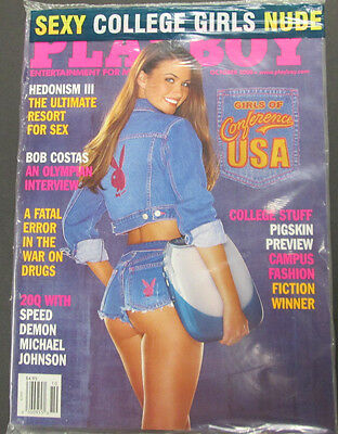 Playboy Adult Magazine College Girls October 2000 new/sealed 040115lm-ep2 - Used