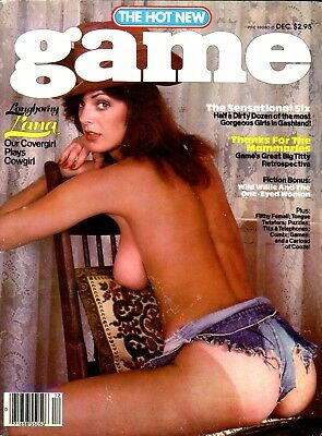 Game Magazine Longhorny Lana December 1980 101217lm-ep - Used