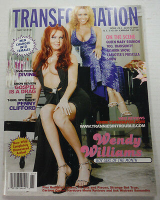 Transformation Adult Tranny Magazine Wendy Williams #61 2007 081815lm-ep