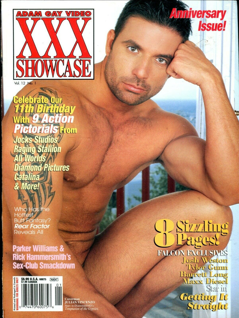Adam Gay Video Showcase Magazine Julian Vincenzo vol.12 #1 2005 110719lm-ep