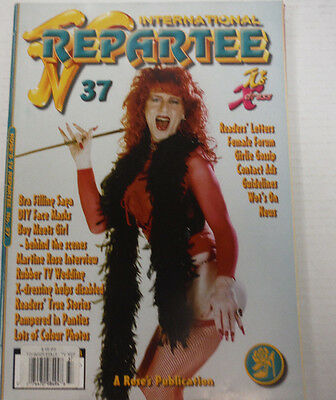 TV Repartee International Adult Tranny Magazine #37 Summer 2001 081815lm-ep