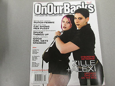 On Our Backs Adult Lesbian Magazine Zille/Alexi January 2003 vg 112014lm-ep - Used