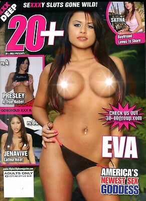 20+ Magazine Sex Goddess Eva #42 2011 102918lm-ep - New