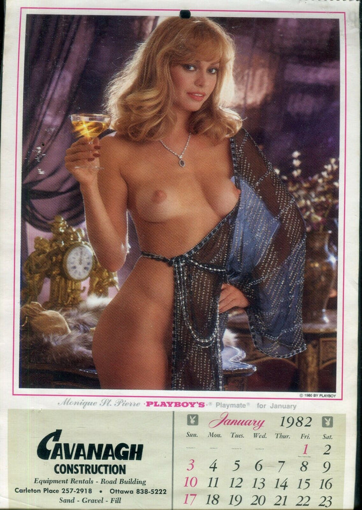Playboy Playboy 1982 Advertising Calendar Cavanagh Construction 122319lm-ep - Used