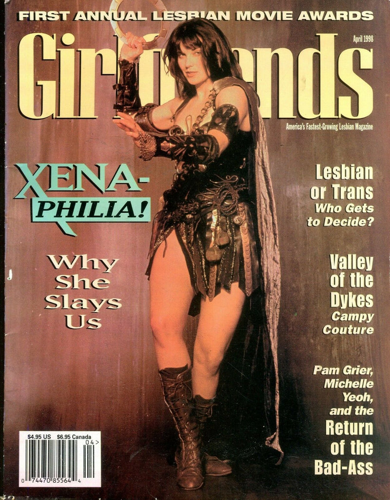 Girlfriends Girlfriends Lesbian Magazine Xena April 1998 110619lm-ep - Used