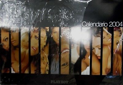 "Playboy 50th Anniversary Calendar 2004 19"" x 13 1/2"" 052318lm-ep - Used"