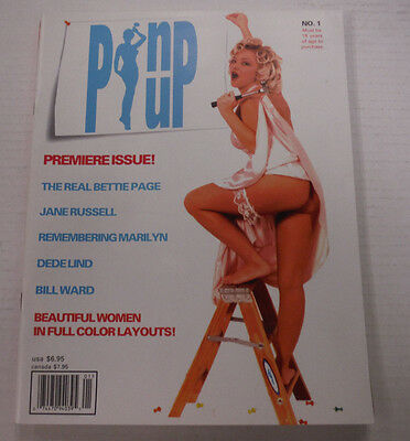 Pinup Busty Adult Magazine Bettie Page #1 1998 081715lm-ep
