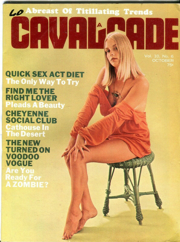 Cavalcade Vintage Magazine Sharon vol.10 #6 October 1970 111919lm-ep