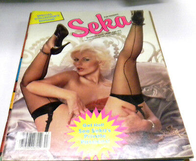 Seka Busty Adult Magazine Blondes Have More Fun #13 Winter 1987 120313lm-ep - Used