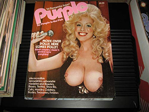 Purple Adult Magazine Premiere Issue (For People In The Pink, October 1977)