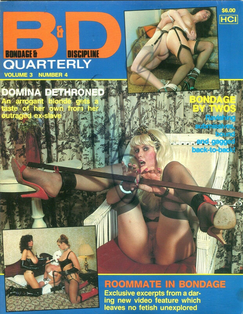 B & D Quarterly magazine Ravishing Submissives vol.3 #4 1983 112219lm-ep