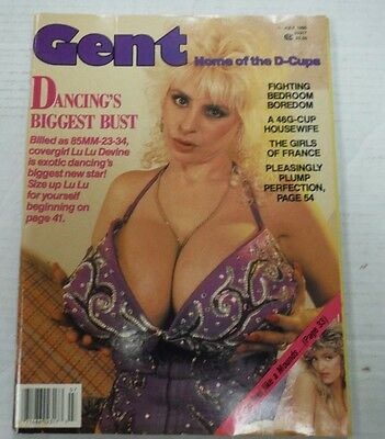Gent Busty Adult Magazine Lu Lu Devine/Valerie July 1990 100615lm-ep