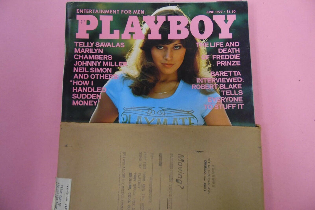 Playboy Magazine Telly Savalas/ Marilyn Chambers June 1977 010617lm-ep2