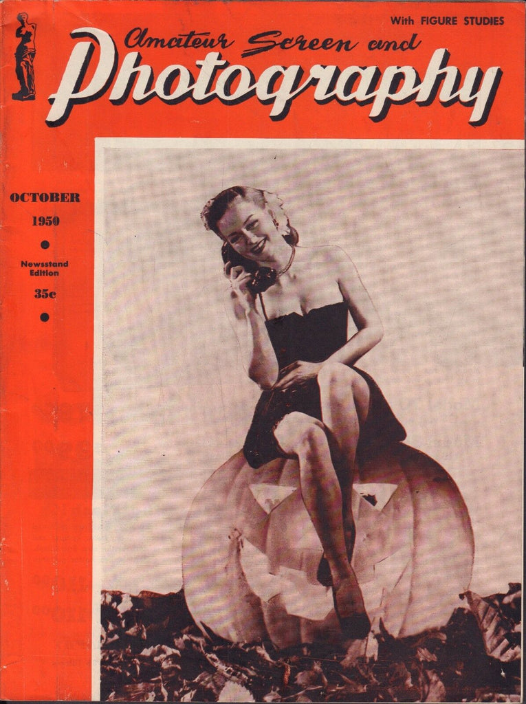 Amateur Screen And Photography October 1950 Vintage Pin-ups VG 110916DBE