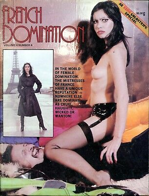 French Domination Magazine Wicked Dominas vol.4 #4 1978 Eros 051718lm-ep