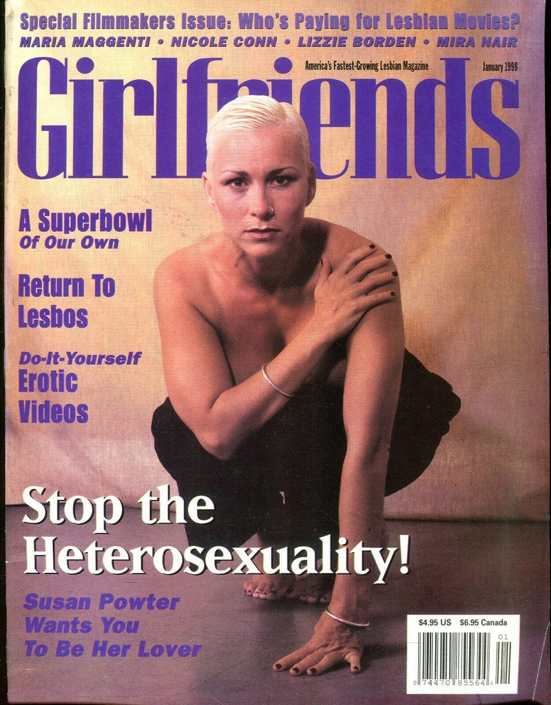 Girlfriends Girlfriends Lesbian Magazine Susan Powter January 1998 110619lm-ep - Used