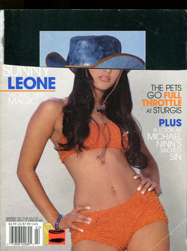 Girls Of Penthouse Magazine Sunny Leone 2007 Readers Copy 051819lm-ep - Used