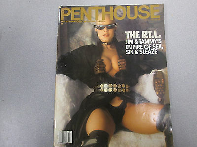 Penthouse Adult Magazine Empire Of Sex,Sin & Sleaze April 1988 021415lm-ep - New