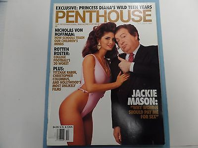 Penthouse Adult Magazine Jackie Mason October 1992 ex 022016lm-ep - Used