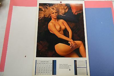 Playboy 1969 Playmate Calendar Connie Kreski 062816lm-ep - Used