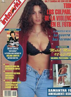 Interviu Spanish Magazine Samantha Fox #1038 March 1996 042918lm-ep