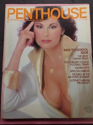 Penthouse Adult Magazine Back-To-School October 1979 ex 122815lm-ep - Used