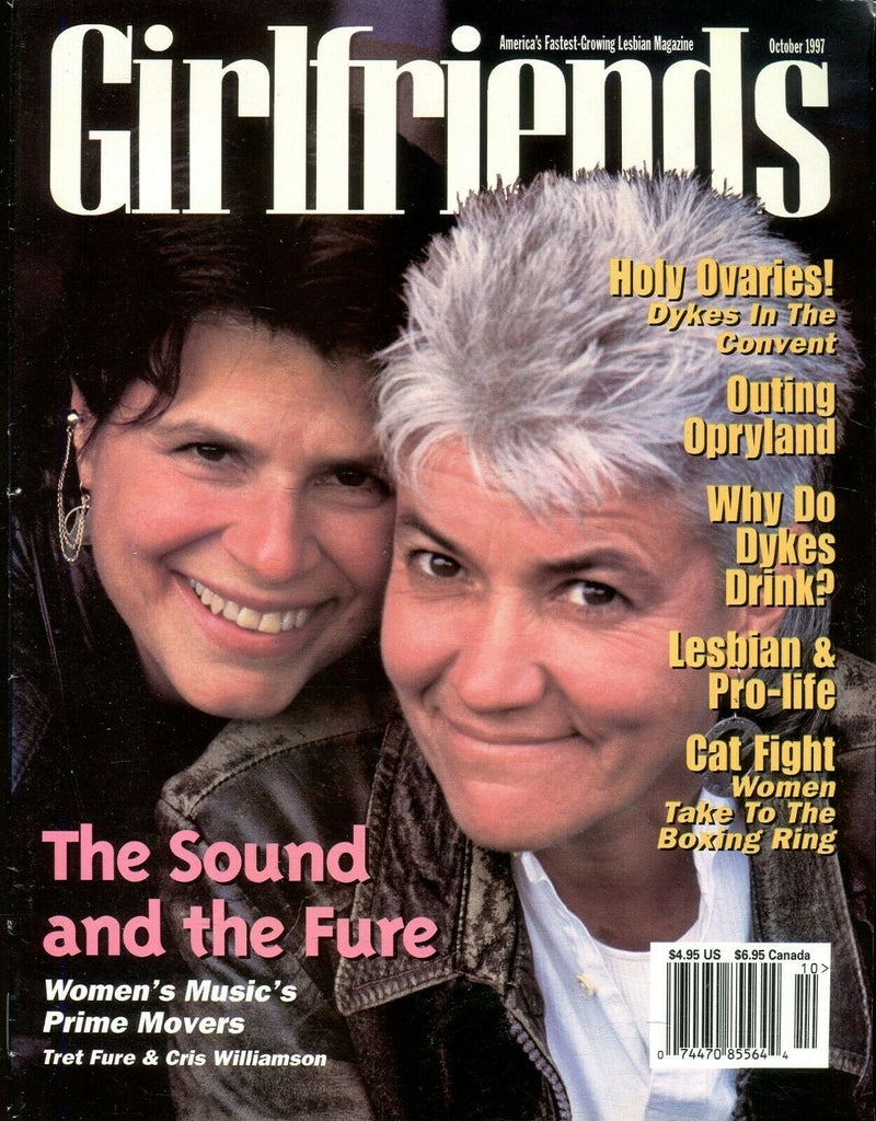 Girlfriends Girlfriends Lesbian Magazine Tret Fure & Cris Williamson 1997 110619lm-ep - Used