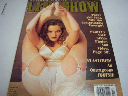 "Leg Show Adult Magazine ""Twist and Suck with Our Contortionist Covergirl"" October 1992"