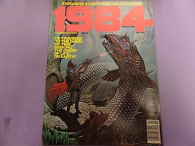 1984 Illustrated Adult Fantasy Magazine #3 September 1978 041516lm-ep5 - New