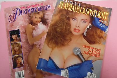 Lot Of 2 Playboy Magazines Playmate Review/In The Spotlight 1989 012817lm-ep - Used