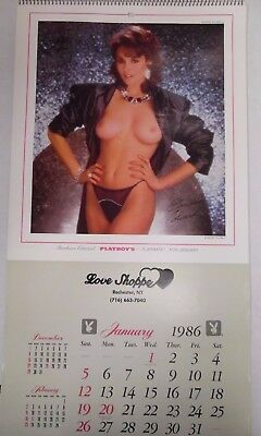 Playboy 1986 Advertising Wall Calendar Love Shoppe 103017lm-ep - Used