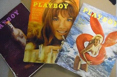 Lot Of 3 Playboy Magazines Ellen Micheals & More! 1972 031918lm-ep2 - Used