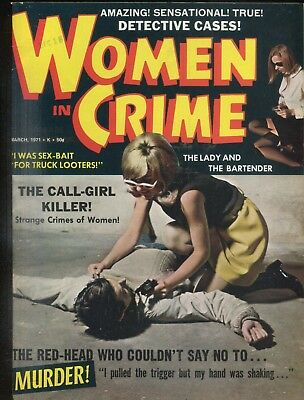 Women In Crime Magazine Red-Head Who Couldn't Say No March 1971 061818lm-ep2