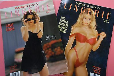 Lot Of 2 Playboy's Book Of Lingerie May 1984/July 1994 062016lm-ep - New