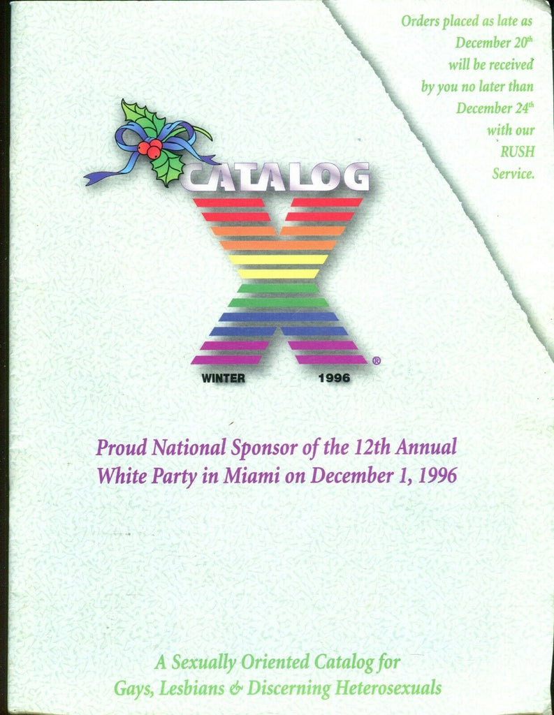 X Catalog Winter 1996 Gays, Lesbians 7 Discerning Hetersexuals 082619lm-ep