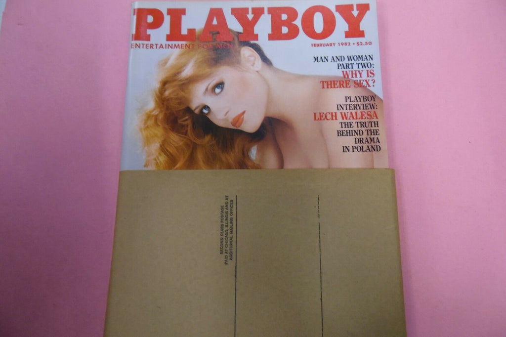 Playboy Magazine Lech Walesa Interview February 1982 010617lm-ep