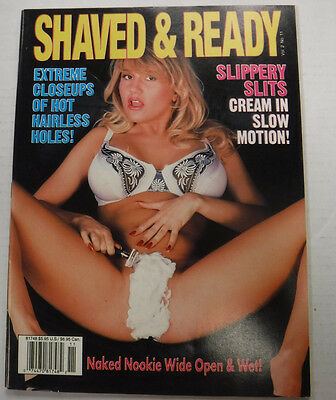 Shaved & Ready Adult Magazine Amanda Oozes Juice vol.2 1994 091515lm-ep