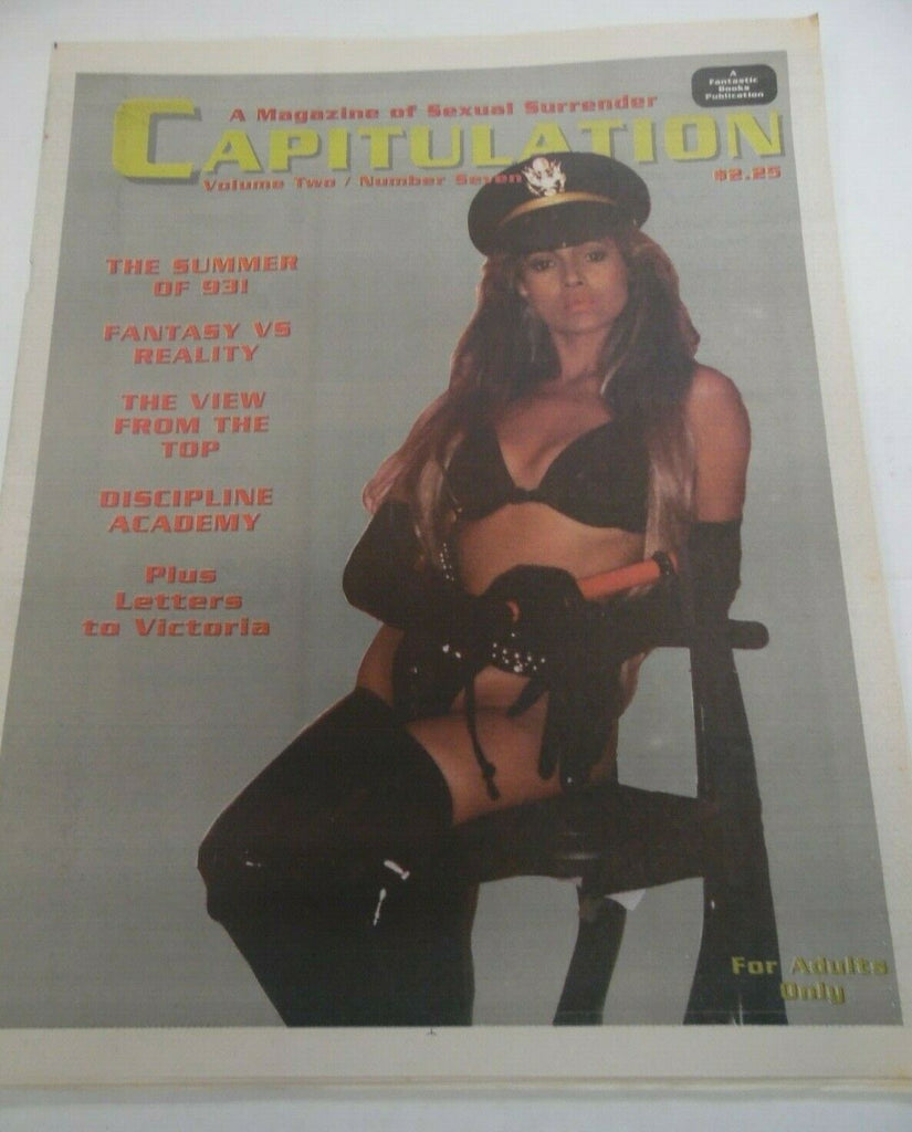 Capitulation Fetish Newspaper Discipline Academy vol.2 #7 1993 120919lm-ep
