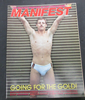 Manifest Reader Gay Adult Magazine Leo Stone #24 1984 072915lm-ep