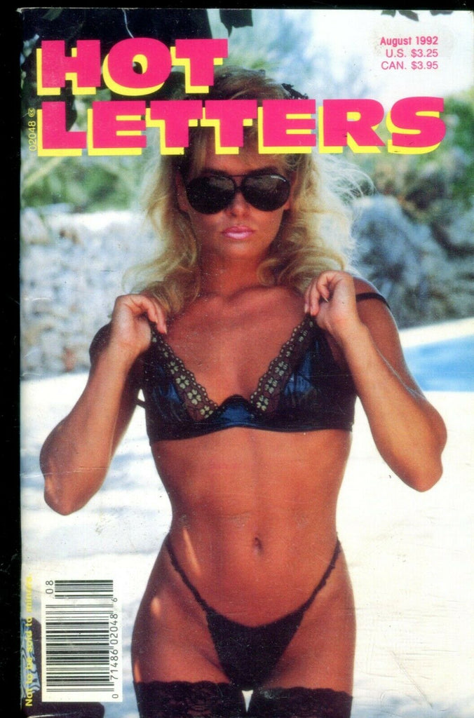 Unbranded Hot Letters Digest Kinks / Lesbians August 1992 020919lm-ep - Used