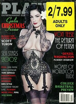 Lot Of 2 Magazines Playboy Gala Christmas/ Swank November 2014 030818lm-ep - Used