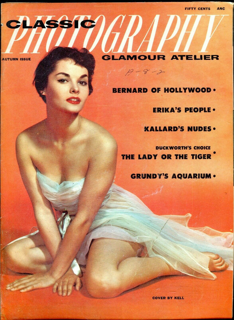 Classic Photography Magazine Bernard Of Hollywood Autumn 1956 100919lm-ep