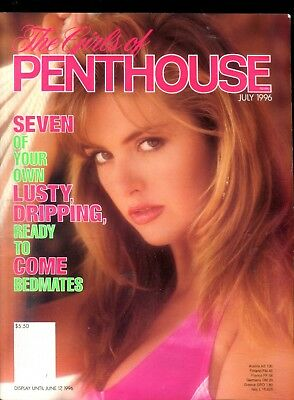 Girls Of Penthouse Lusty, Dripping & Ready July 1996 103018lm-ep - Used