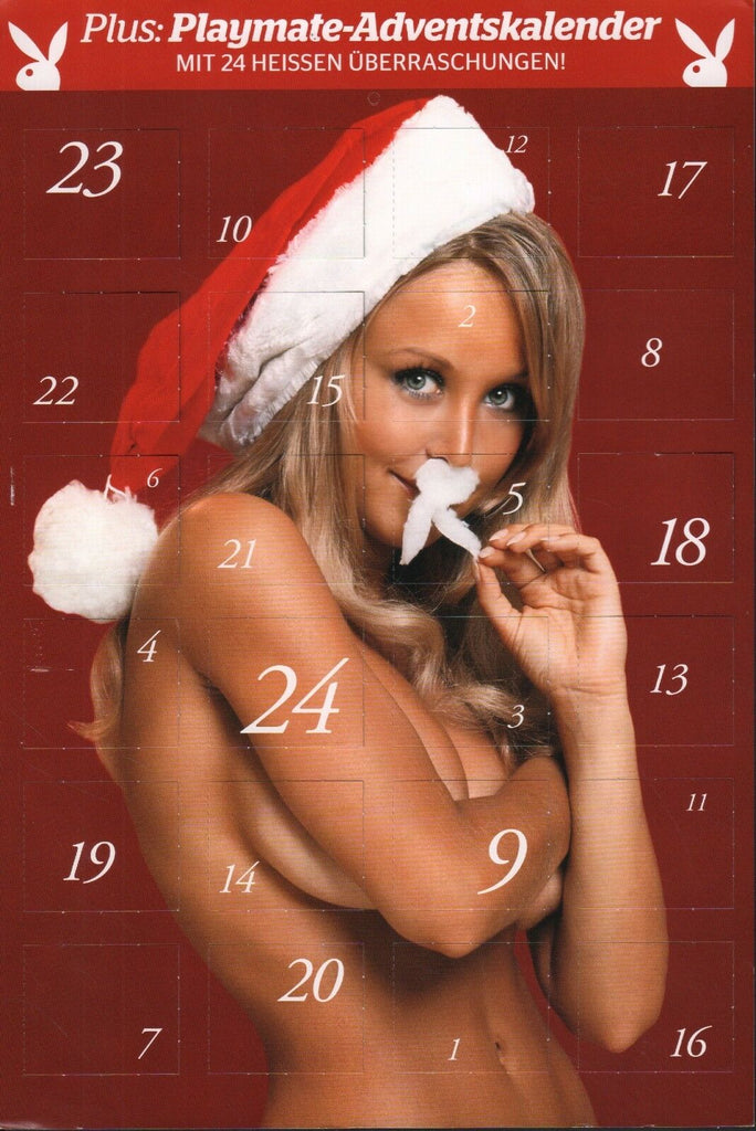 "German Playboy Advent Adult Calendar 11""x8.5"" 051818DBCAL - Used"