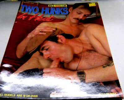 Two Hunks In Heat Gay Adult Magazine #1 nm 123113lm-ep