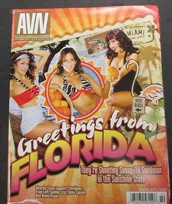 Adult Video News Adult Magazine Anna Capone October 2007 071715lm-ep
