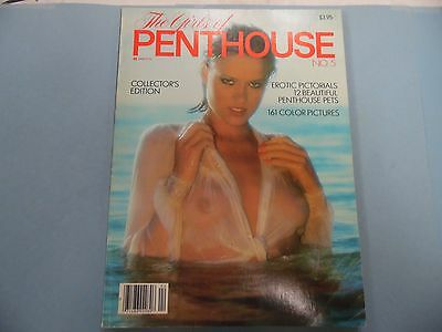 Girls Of Penthouse Magazine Collector's Edition #5 1982 060316lm-ep - Used
