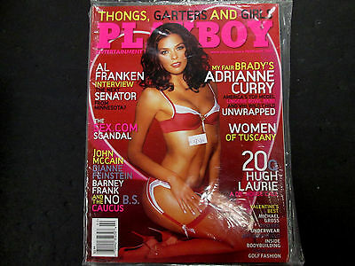 Playboy Adult Magazine Adrianne Curry February 2006 new/sealed 042615lm-ep - Used
