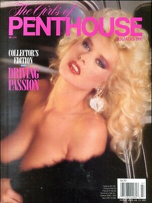 Girls Of Penthouse Magazine Driving Passion July 1991 Collectors 062218lm-ep - New