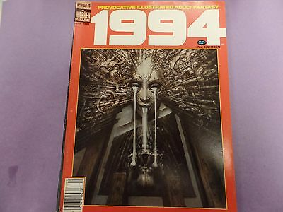 1994 Provocative Illustrated Adult Fantasy Magazine #18 1981 041516lm-ep5 - New